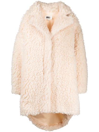 MM6 Maison Margiela - teddy style coat