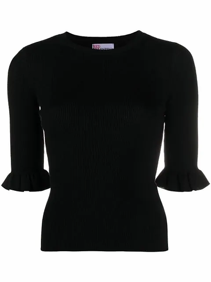 Red Valentino - top canalé