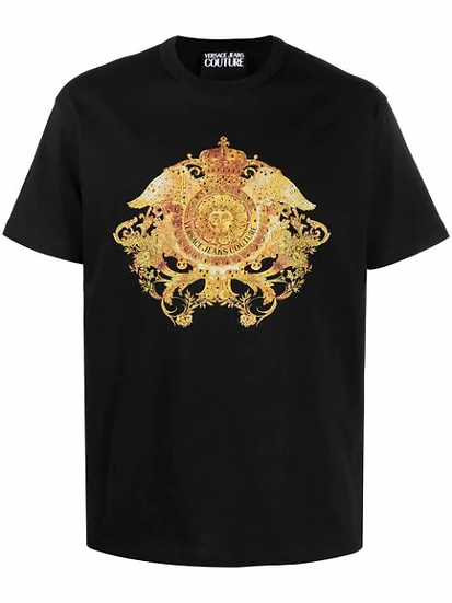 Versace Jeans  Couture -  t-shirt estampado barroco