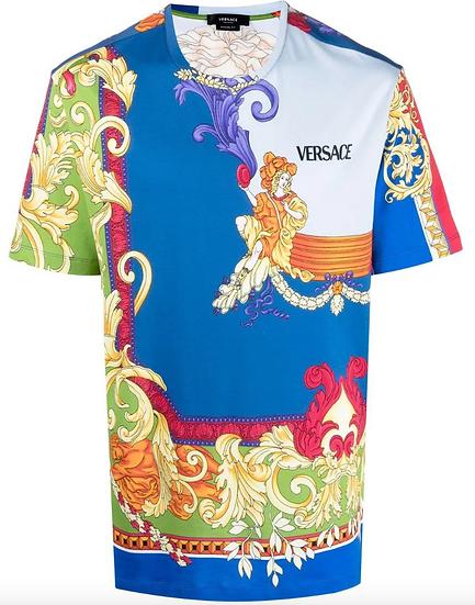 Versace - camiseta con estampado Medusa Renaissance