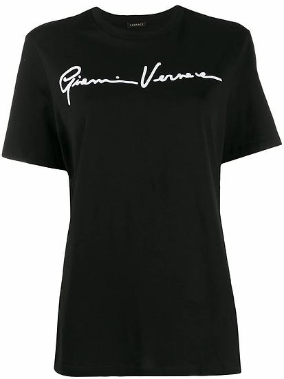 Versace - t-shirt logo bordado