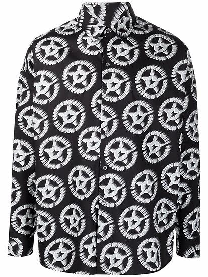 Moschino - logo print shirt
