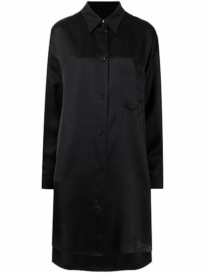 MM6 Maison Margiela - satin shirt dress