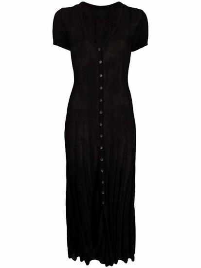 Jacquemus - vestido midi de punto