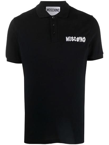 Moschino - polo shirt with logo