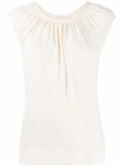 Marni - blusa cuello fruncido