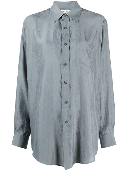 Maison Margiela - camisa diseño arrugas