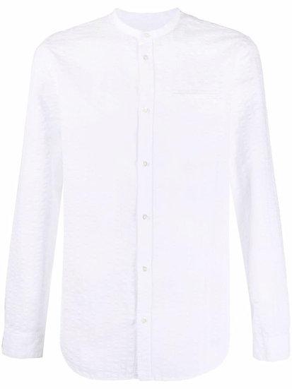 DONDUP - textured striped shirt