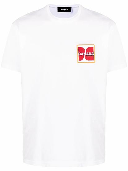 Dsquared2 - t-shirt parche logo