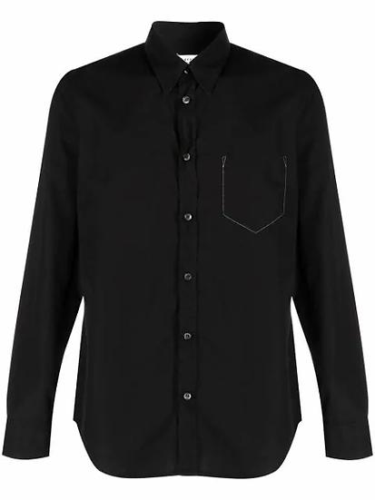 Maison Margiela - camisa detalle bolsillo