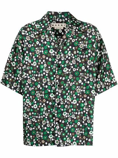 Marni - camisa estampado floral