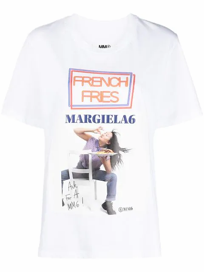 MM6 Maison Margiela - t-shirt estampada
