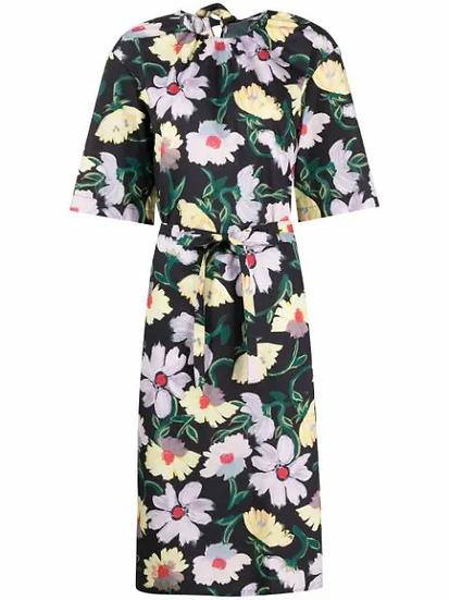 Marni - vestido estampado floral