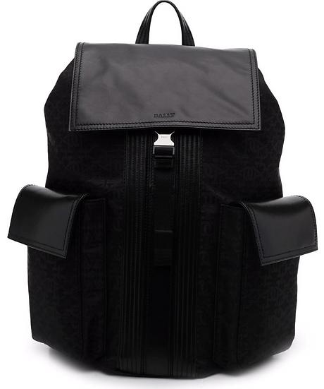Bally - mochila con cierre con hebilla