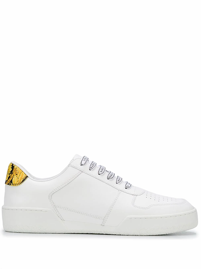 Lace-up sneakers with logo