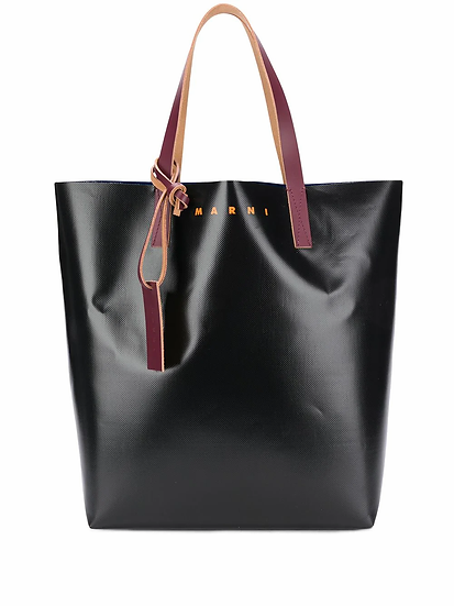 Marni - bolso shopper colour block