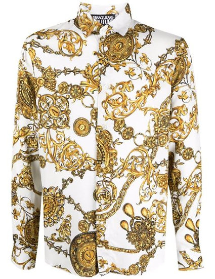 Versace Jeans Couture - printed shirt