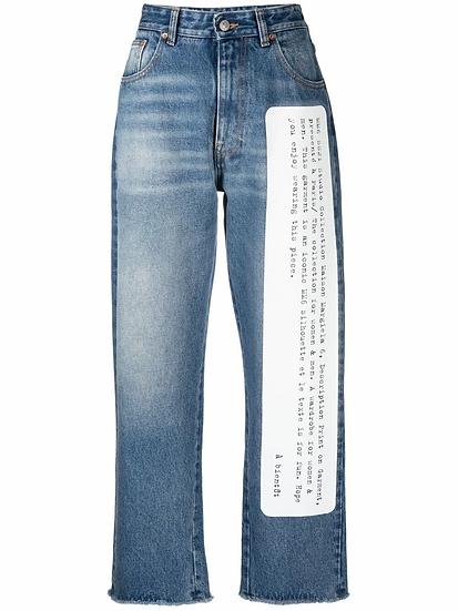 MM6 Maison Margiela - jeans rectos