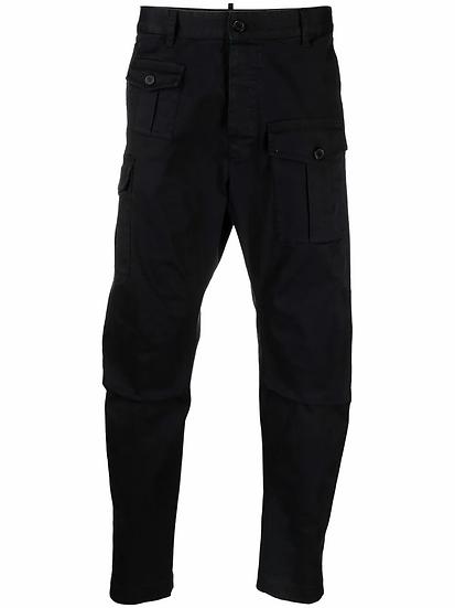 Dsquared2 - pantalones capri cargo
