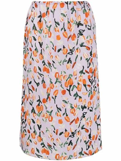 Marni - falda estampado floral