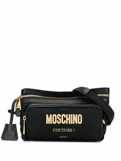 Moschino - riñonera con logo en relieve