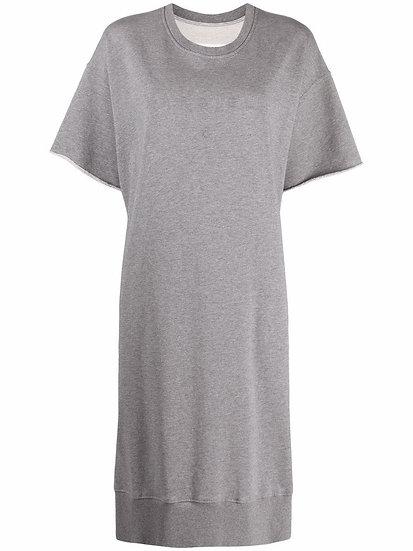 MM6 Maison Margiela - sweatshirt style shirt dress