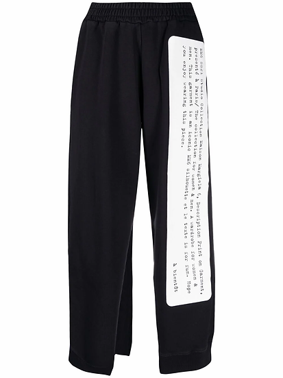 MM6 Maison Margiela - pantalón deportivo aberturas