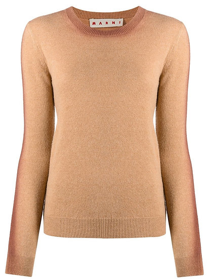 Marni - contrast jumper