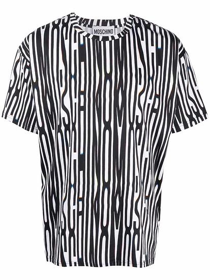 Moschino - logo print t-shirt