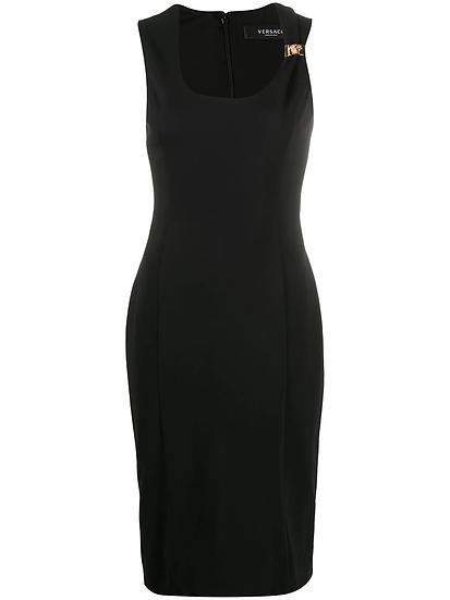 Versace - vestido fruncido ajustado