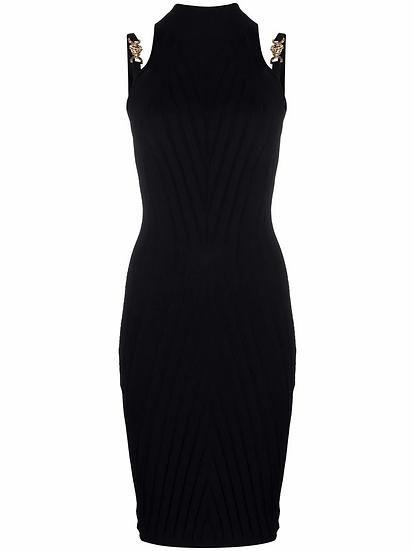Versace - vestido de canalé