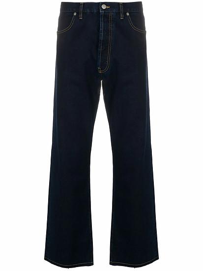Maison Margiela - jeans capri anchos