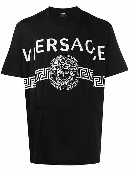 Versace - t-shirt estampado Medusa
