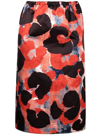 Marni - falda estampado abstracto