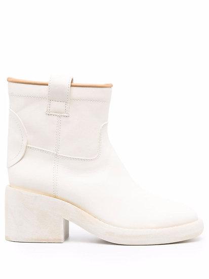 MM6 Maison Margiela - square heel ankle boots