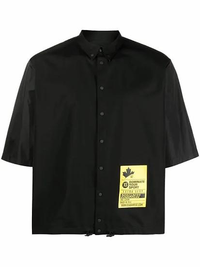 Dsquared2 - camisa con parche