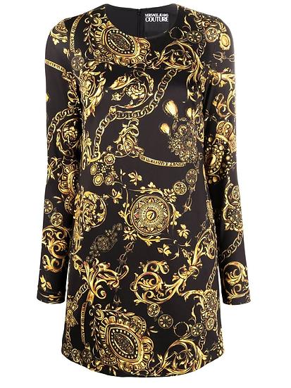 Versace Jeans Couture - vestido Baroque corto