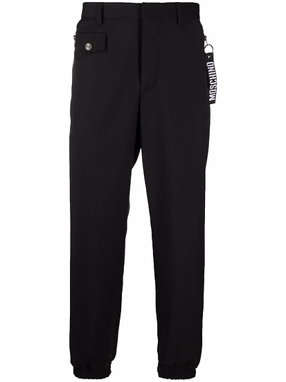 Moschino - logo baggy trousers