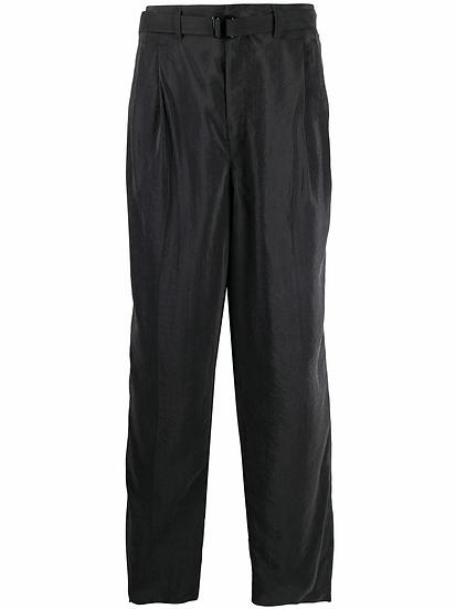 Lemaire - pantalón recto con cierre oculto