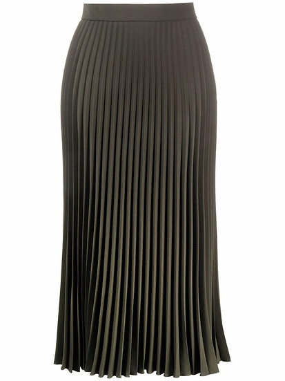 MM6 Maison Margiela - falda midi plisada