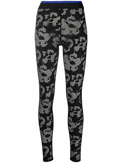 Koché - leggings detalle perforado