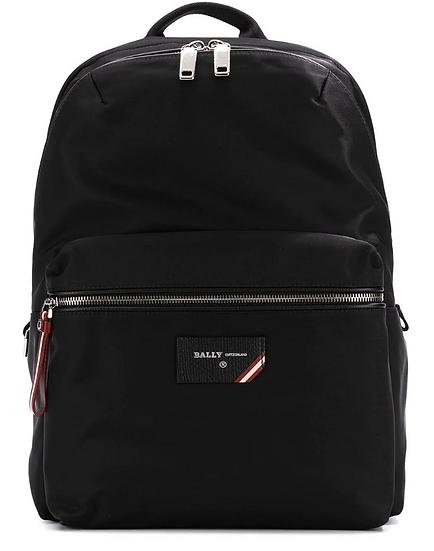 Bally - mochila con parche del logo