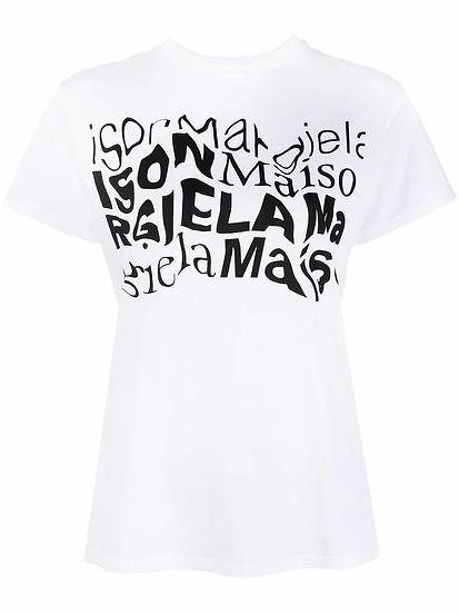 Maison Margiela - t-shirt estampada
