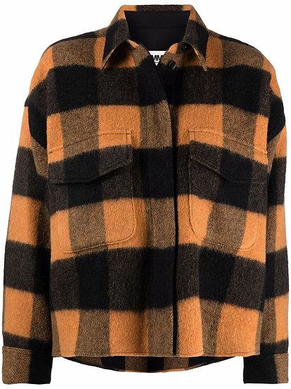 MM6 Maison Margiela - chaqueta corta a cuadros