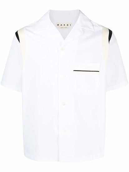 Marni - camisa cuello solapas