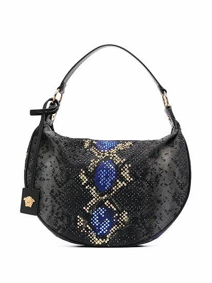 Versace - bolso estampado serpiente