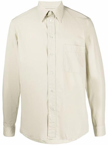 Lemaire - camisa con bolsillo