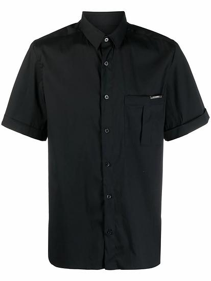 Les Hommes - camisa con bolsillo