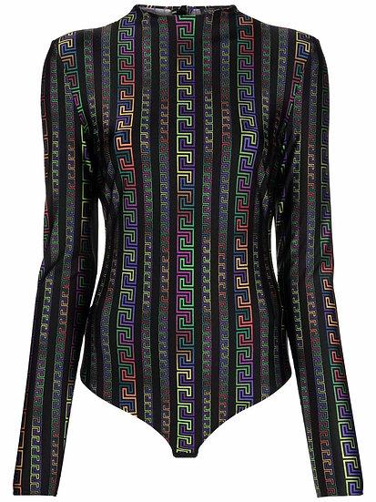 Versace - body greca multicolor