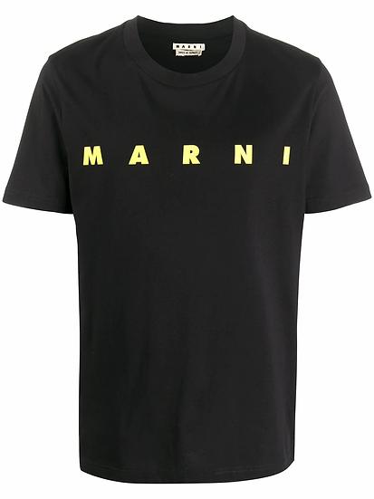 Marni - t-shirt logo estampado